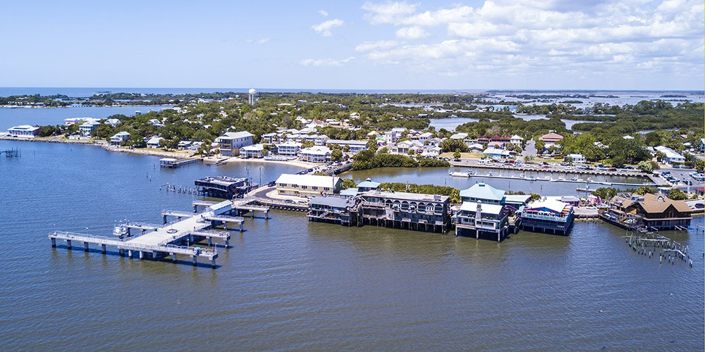 Another overview photo of Cedar Key